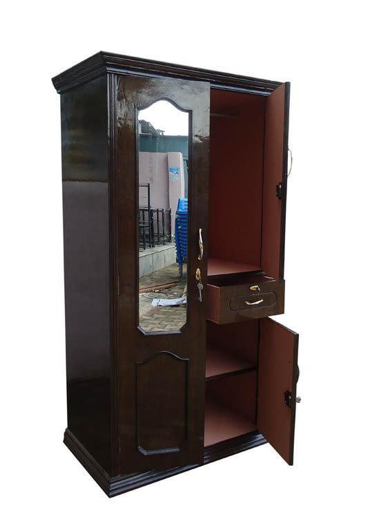 wooden triple door almari (2)